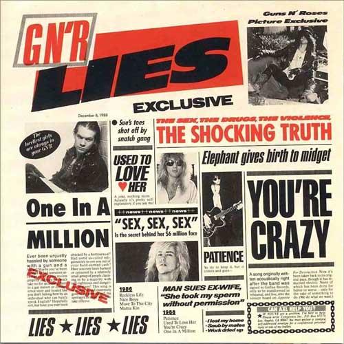 Disco Inmortal: Guns N' Roses – GN'R Lies (1988)