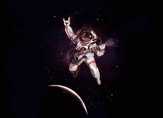 Los astronautas del Space X usaron canciones de AC/DC y Black Sabbath en su aventura espacial