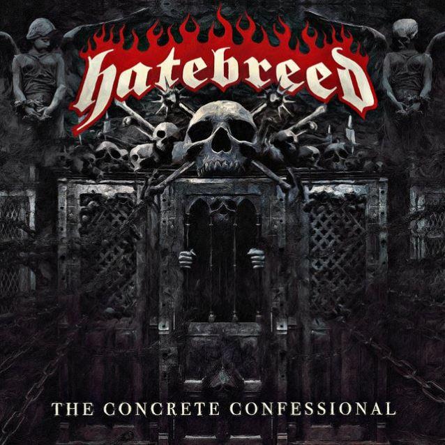 Portada, tracklist y detalles de 'The Concrete Confessional', el nuevo álbum de estudio de Hatebreed