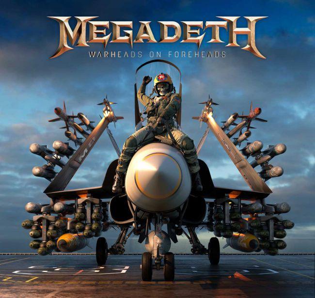 """Megadeth revela el contenido de """"Warheads On Foreheads"""" su antología"""