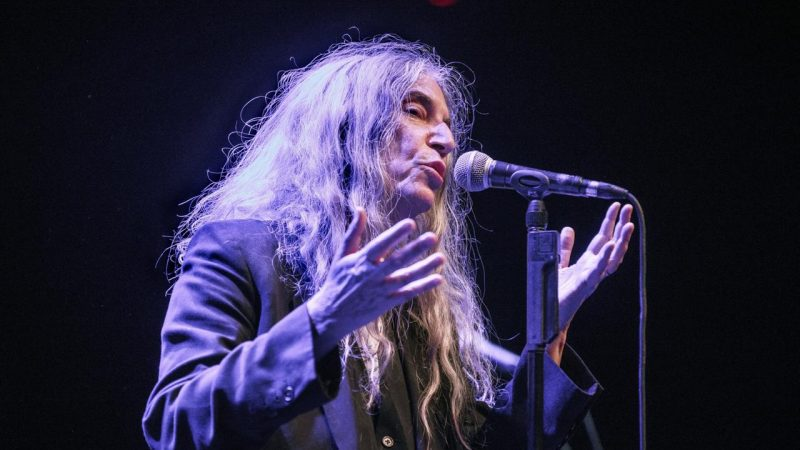 Patti Smith en Chile: Punk, sentido y razón