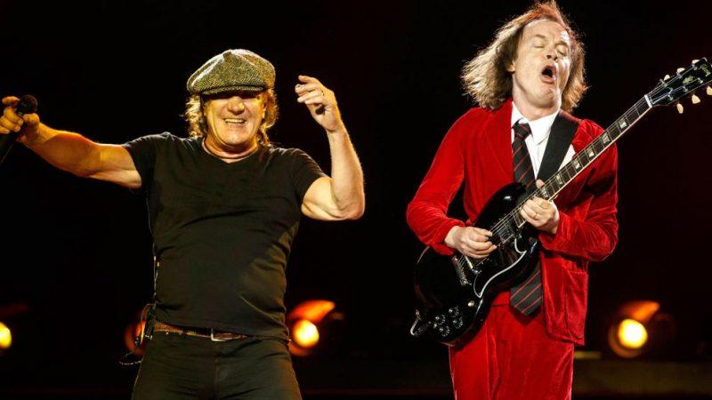 El nuevo álbum de AC/DC saldría en marzo/abril de este año