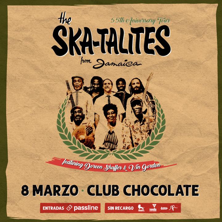 Concurso: Gana entradas para el show de Skatalities en Chile