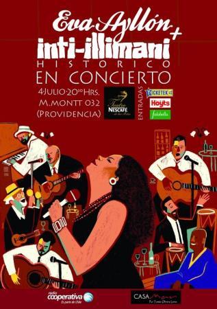 Inti Illimani Histórico + Eva Ayllón en vivo