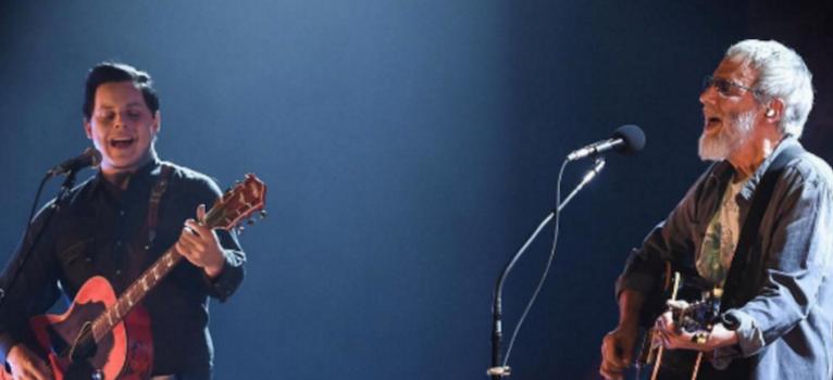 VIDEOS: Mira a Jack White y Eddie Vedder tocando junto a Cat Stevens en vivo