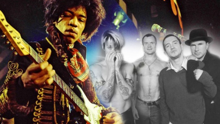"""2×1: """"Fire"""" The Jimi Hendrix Experience vs. Red Hot Chili Peppers"""