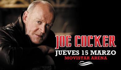 Joe Cocker en Chile: Revisa fecha, valores y recinto
