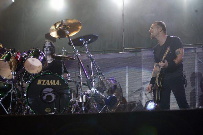 El día que Joey Jordison cumplió su sueño de tocar en Metallica