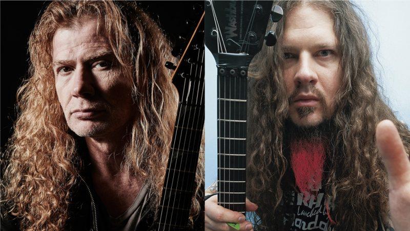 """Dave Mustaine contó como casi Dimebag Darrell fue reclutado para ser el guitarrista de """"Rust in Peace"""""""