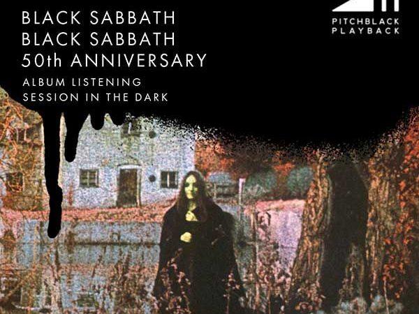 """Black Sabbath realizará escuchas masivas """"en completa oscuridad"""" para celebrar el aniversario de su álbum debut"""