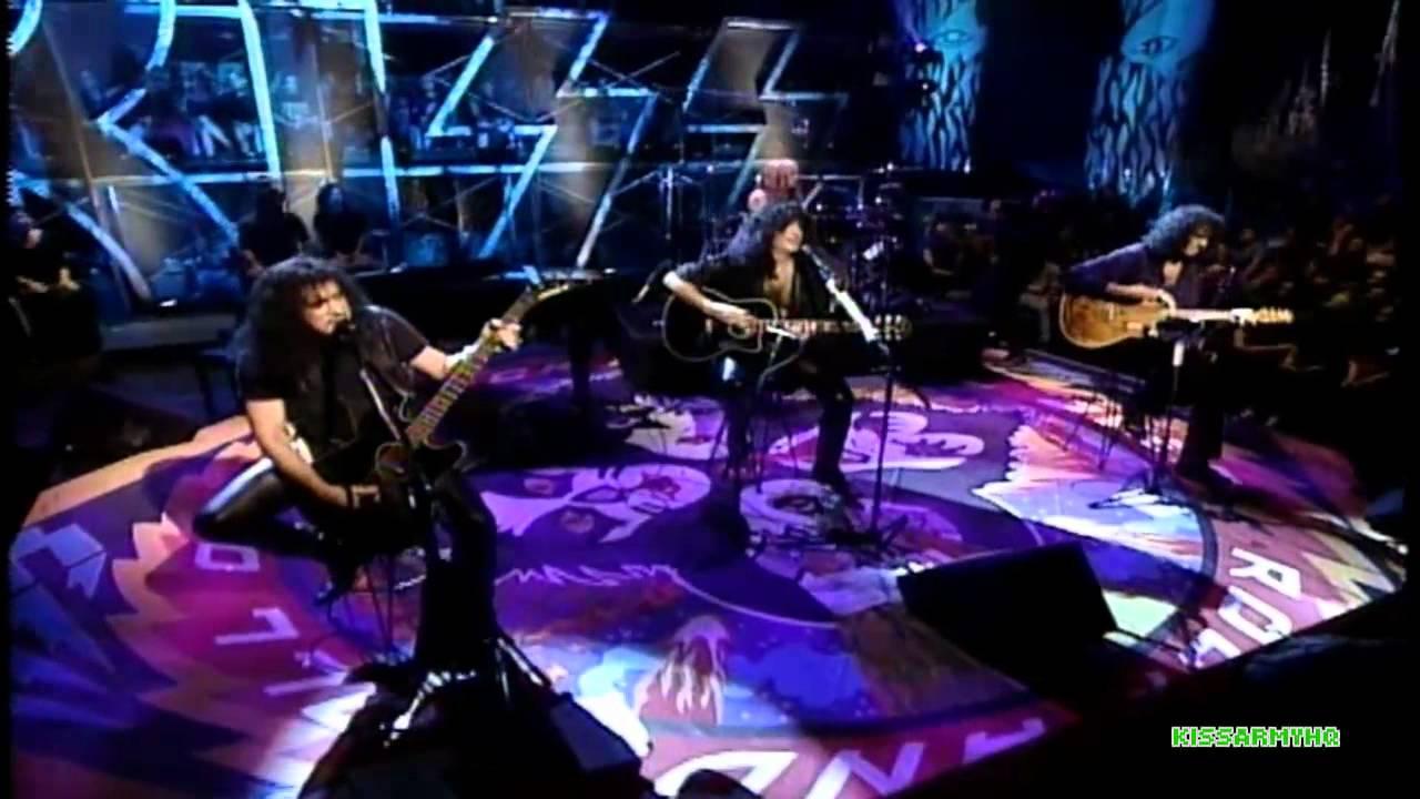 Conciertos que hicieron historia: El Unplugged de MTV de KISS, el show que reunió a los miembros originales