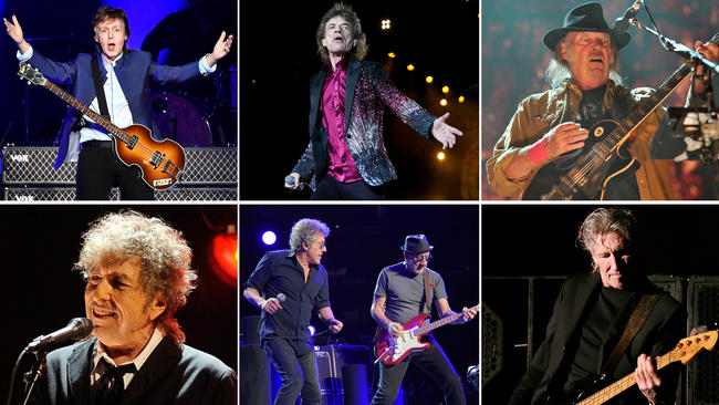 Coachella prepara festival con Dylan, McCartney, Roger Waters, The Rolling Stones, The Who y Neil Young