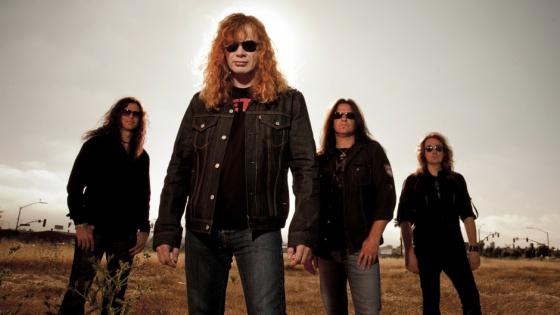 Megadeth comienza a grabar su décimocuarto disco de estudio