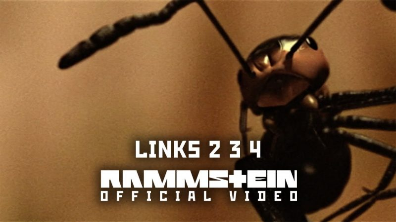 "Videografía Rock: ""Links 2, 3, 4""- Rammstein"