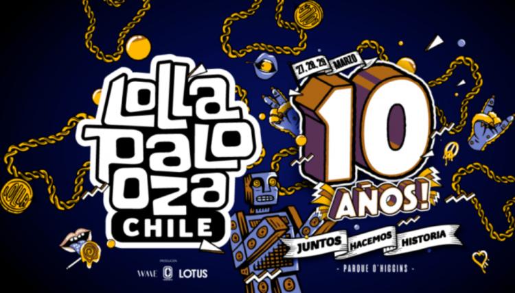 Confirmados los precios para celebrar los 10 años de Lollapalooza en Chile