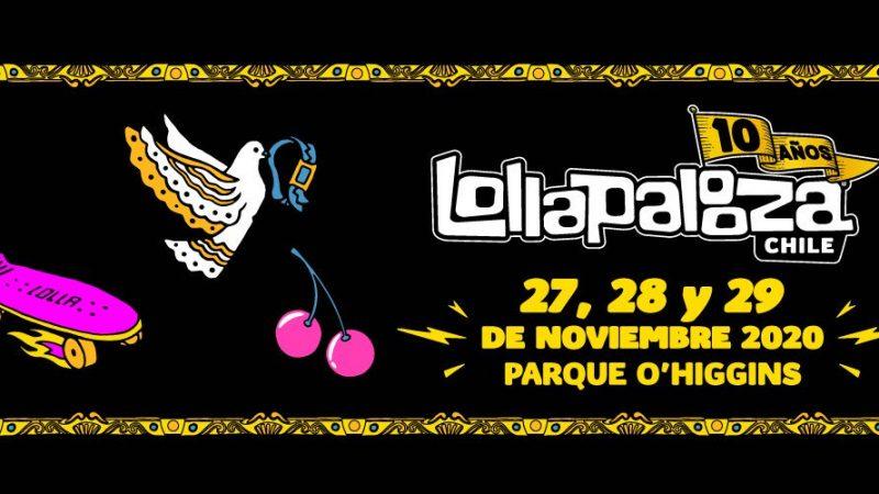 ¡Reprogramado! Lollapalooza Chile se reagenda para el 27, 28 y 29 de noviembre