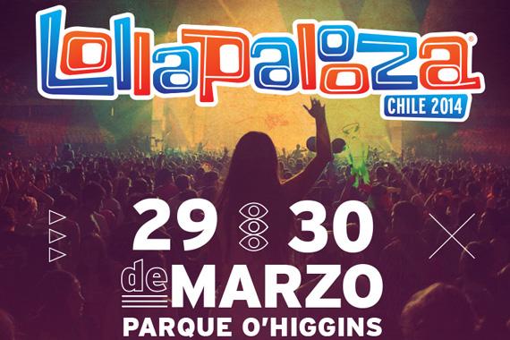 Revisa las recomendaciones de seguridad del Festival Lollapalooza Chile 2014