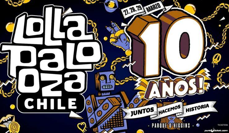 Lollapalooza Chile 2020 anuncia carteles por día