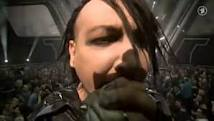 Mira a Marilyn manson y Rammstein tocando 'The Beautiful People' juntos