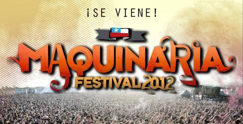 """Festival Maquinaria extiende promoción """"Techo para Chile"""""""