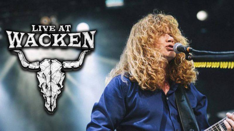 Megadeth transmitirá su presentación en Wacken 2017
