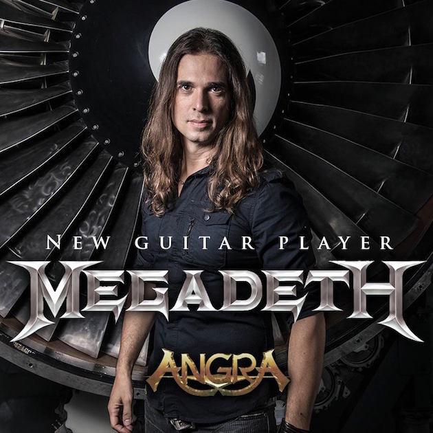 Megadeth confirma al ex-Angra Kiko Loureiro como su nuevo guitarrista