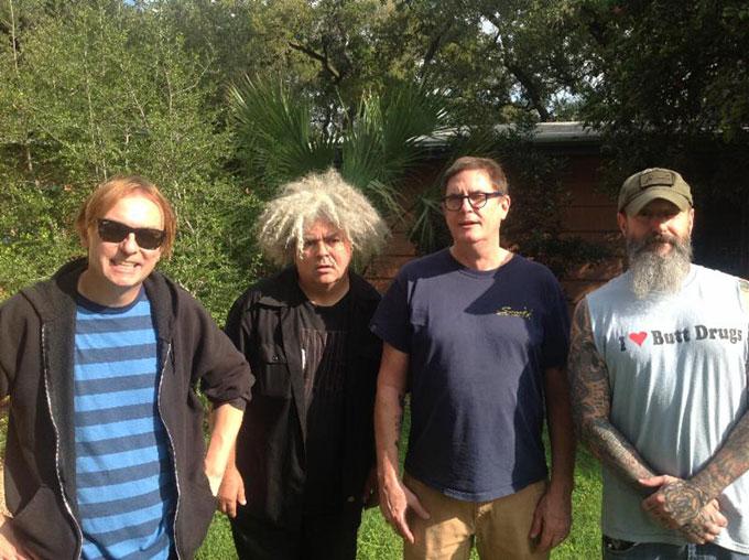 Melvins anuncia nuevo disco de estudio junto a integrantes de Butthole Surfers