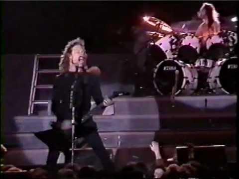 Metallica y su debut en Chile: el primer apocalipsis
