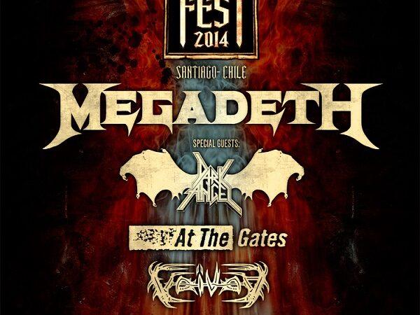 Metal Fest Chile 2014 llega encabezado por Megadeth