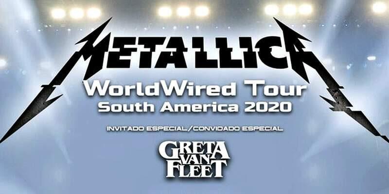 Se oficializa que el show de Metallica en Chile será pospuesto por precaución