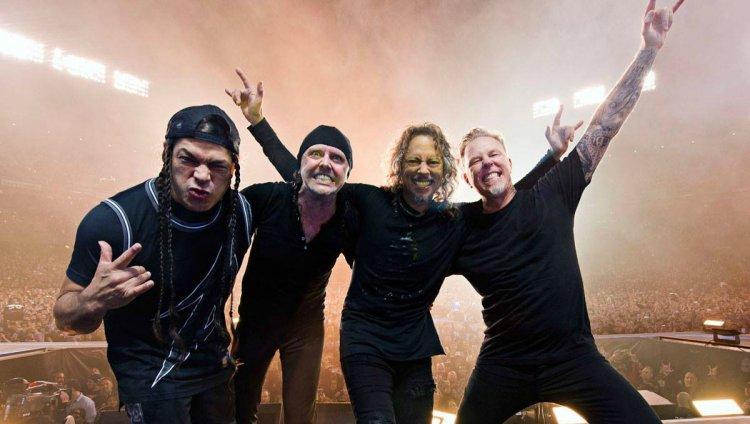 Metallica dará su primer concierto en el año y será proyectado en autocines
