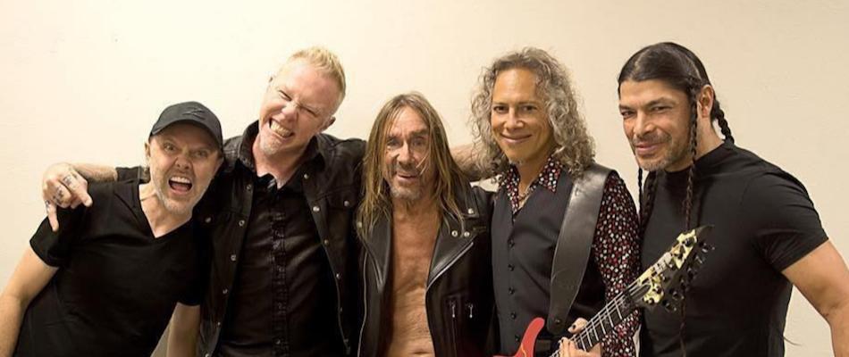 VIDEO: Metallica invitó a Iggy Pop en vivo en su show en México para interpretar un clásico de The Stooges