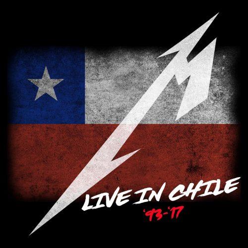 """""""Live In Chile '93-'17"""": Metallica comparte lista de Spotify dedicada exclusivamente a Chile"""