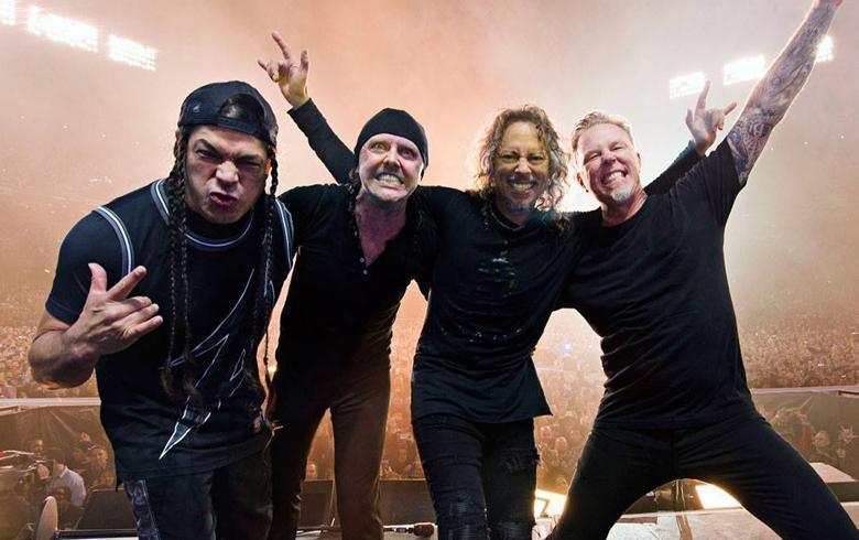 Nuevo show de Metallica sinfónico se proyectará en salas de cine en Santiago y provincias