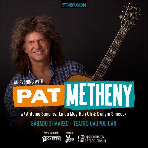 Pat Metheny regresa a Chile para celebrar los 12 años de Santiago Fusión