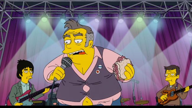 Morrissey se ofende por grotesca caracterización en el nuevo capítulo de Los Simpsons