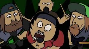 """Mira """"You're Cut Off"""", el divertido video animado de Municipal Waste"""