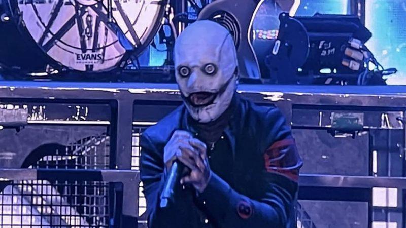 VIDEOS: Slipknot realizó su primer show en vivo en más de un año y Corey Taylor debutó nueva máscara