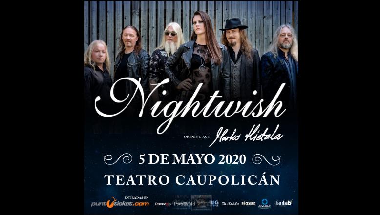 Nightwish confirma concierto en Chile para presentar su nuevo disco