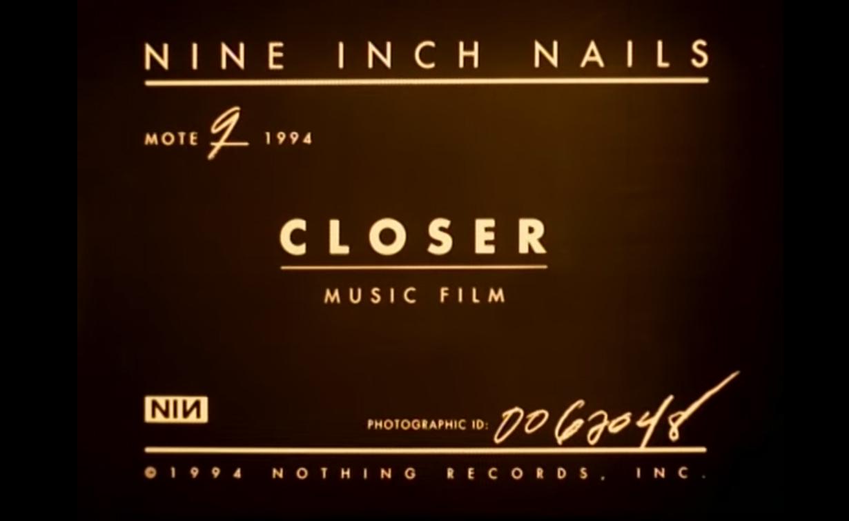 "Cancionero Rock: ""Closer"" – Nine Inch Nails (1994)"