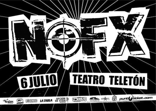 NOFX en Chile: revisa detalles y escucha algo de lo nuevo de los californianos