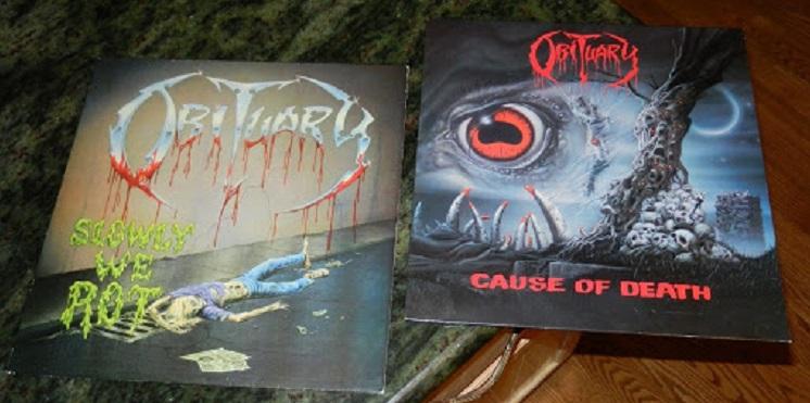 """Obituary tocará """"Slowly We Rot"""" y """"Cause of Death"""", sus dos primeros álbumes en transmisión en vivo"""