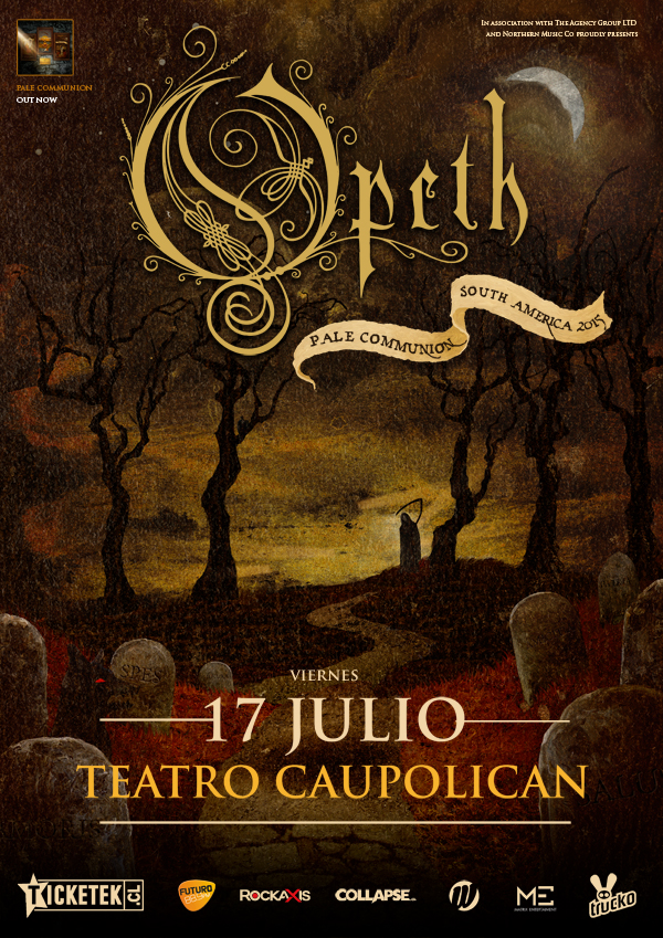 opeth-2015-chile-poster