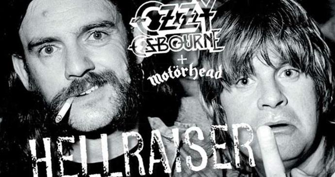 """Ozzy Osbourne lanza nueva versión de su clásico """"Hellraiser"""" con Lemmy Kilmister"""