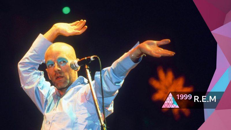 R.E.M. transmitirá en streaming una legendaria presentación de 1999 en Glastonbury