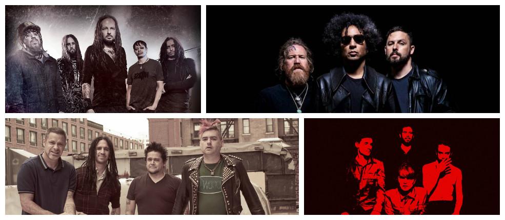 Playlist de la semana #14: Korn, Giraffe Tongue Orchestra, NOFX, Volta y más