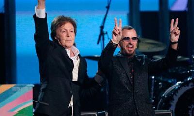 Revisa la histórica presentación de Paul McCartney y Ringo Starr en la ceremonia de premiación de los Grammy 2014