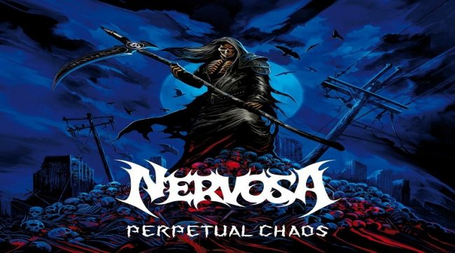 """Nervosa ofrece dinamismo y thrash clásico en """"Perpetual Chaos"""""""