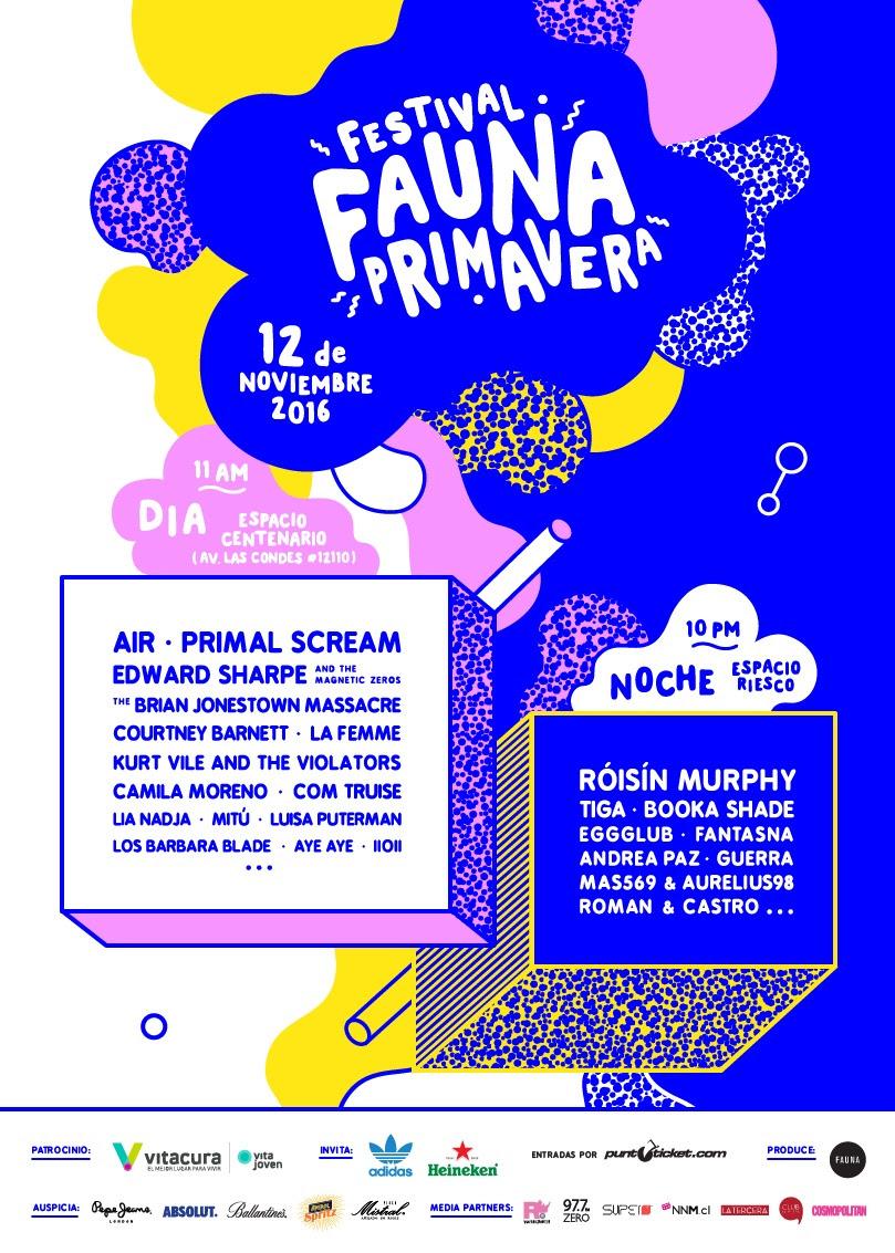 Primavera Fauna anuncia su cartel completo: Primal Scream, Kurt Vile y Courtney Barnett, entre otros