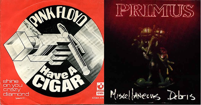 2X1: 'Have a Cigar' Pink Floyd vs. Primus